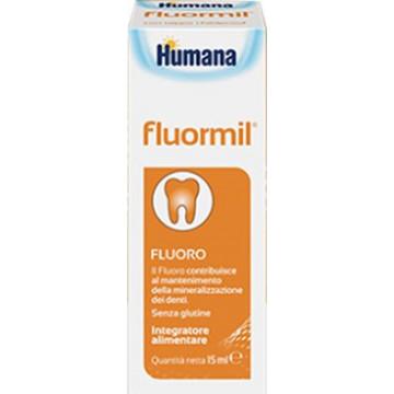 Fluormil Integratore di Fluoro per Bambini Gocce 15 ml