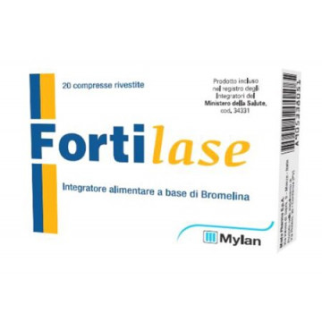 Fortilase Antinfiammatorio con Bromelina 20 compresse