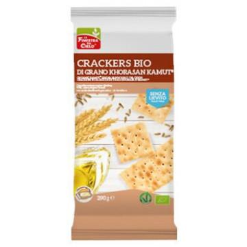 Fsc crackers di kamut senza lievito bio vegan con olio extravergine di oliva 290 g
