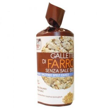 Fsc gallette di farro senza sale bio 100 g