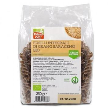 Fusilli integrali di grano saraceno bio 250 g