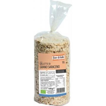 Gallette di grano saraceno bio 100 g