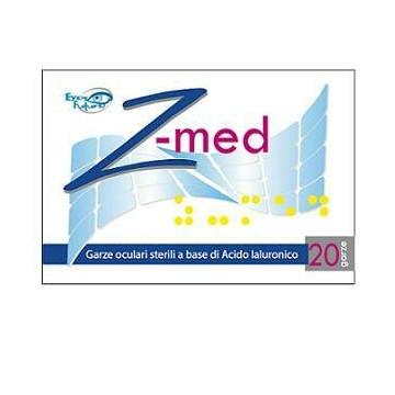 Garza oculare z med medicata con acido ialuronico sterile 20buste