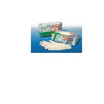 Guanto in lattice per esplorazione fz quality meds misura medium 1 scatola 100 guanti