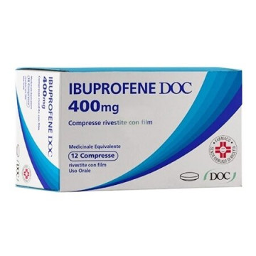 Ibuprofene 400 mg doc 12 compresse rivestite