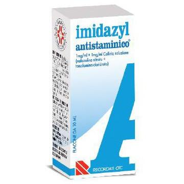 Imidazyl 0,1% antistaminico collirio 10 ml