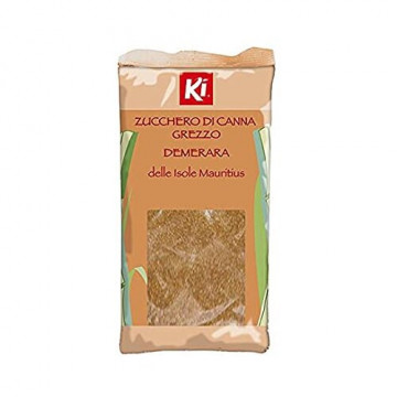 Ki zucchero di canna grezzo demerara delle isole mauritius 1kg