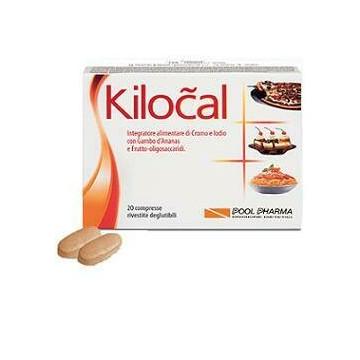 Kilocal 20 Compresse Integratore Dimagrante