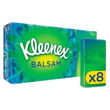 Kleenex fazzoletti balsamici pocket 8 pezzi