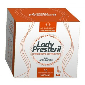 Lady presteril assorbenti interni normal 16 pezzi