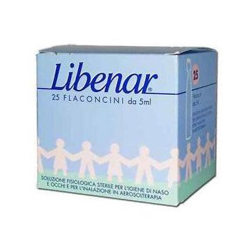 Libenar Soluzione Fisiologica per Igiene Naso 25 flaconcini 5ml