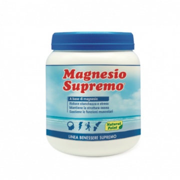 Magnesio Supremo 300g Complemento alimentare di Magnesio