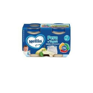 Mellin merenda yogurt pera 2x120 g