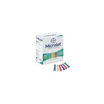 Lancette pungidito per diabetici Microlet lancets 20 pezzi