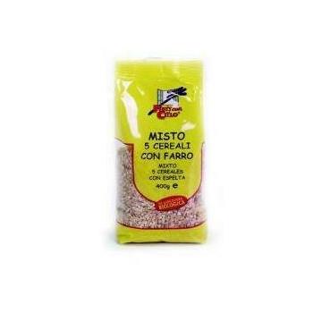 Mix per zuppa 5 cereali con farro bio 400 g
