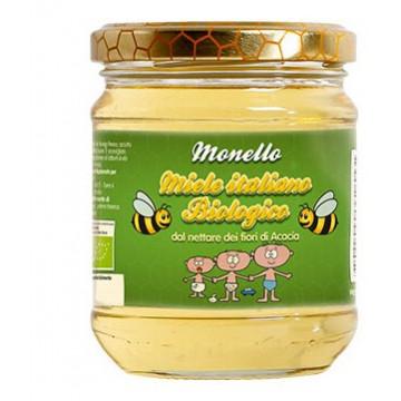 Monello miele biologico di acacia vasetto 50 g