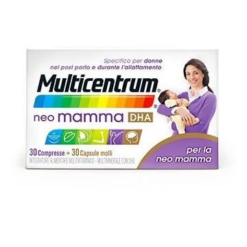 Multicentrum Neo Mamma DHA 30 compresse + 30 capsule molli