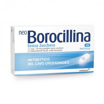 Neoborocillina Antisettico Senza Zucchero 16 pastiglie