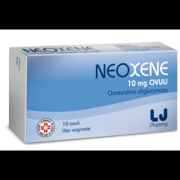 Neoxene 10 mg Ovuli Vaginali Azione Antisettica 10 pezzi