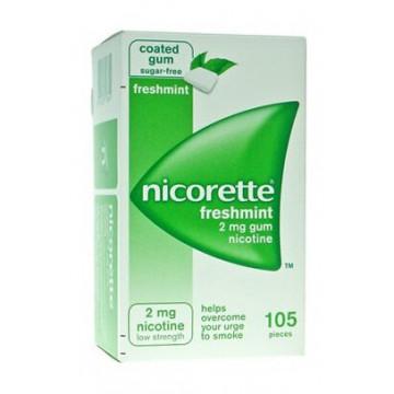Nicorette stop al fumo 105 gomme masticabili 2mg