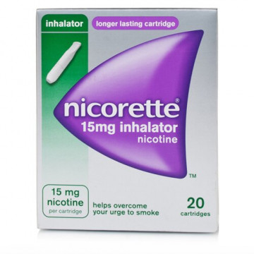 Nicorette 15 mg nicotina inhaler 20 flaconi monodose