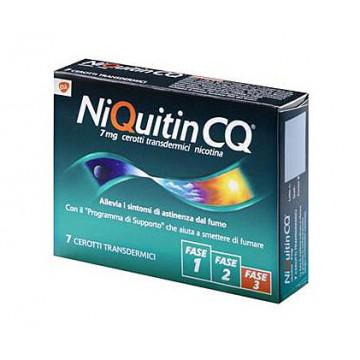Niquitin 7 cerotti transdermico 7 mg/die