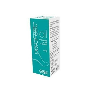 Novafeet oil senza parabeni 50 ml