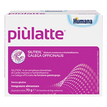 Piulatte Plus Humana per Donne in allattamento 14 buste