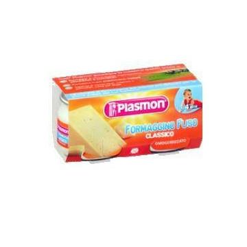 Plasmon omogeneizzato formaggino 80 g x 2 pezzi