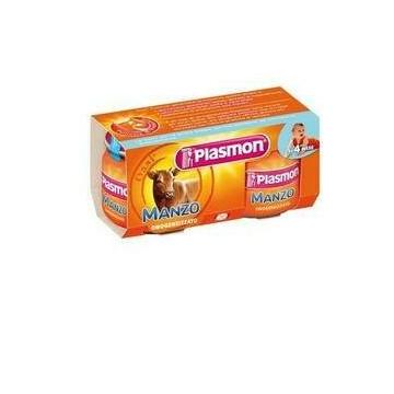 Plasmon omogenizzato manzo 2 pezzi da 80g