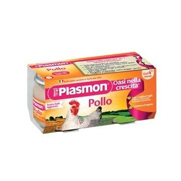 Plasmon omogenizzato pollo 2 pezzi da 80g