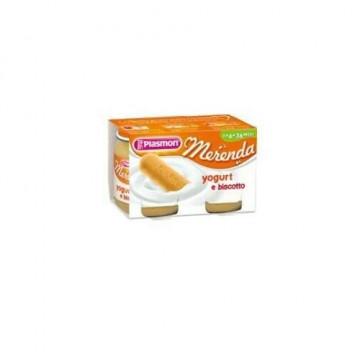 Plasmon omogeneizzato yogurt biscotto 120 g x 2 pezzi