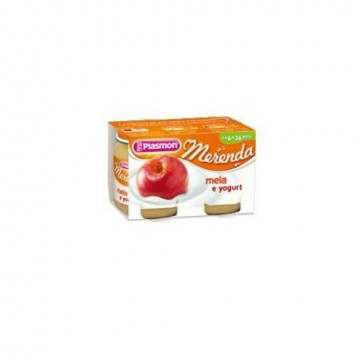 Plasmon omogeneizzato yogurt mela 120 g x 2 pezzi
