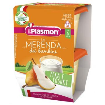 Plasmon pera yogurt as 2 x 120 g