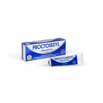 Proctosedyl Crema Rettale Emorroidi 20 g
