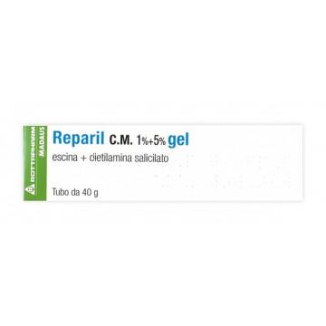 Reparil Gel CM 1%+5% per Traumi Lievi 40g