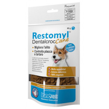 Restomyl dentalcroc cani piccola taglia busta 60 g