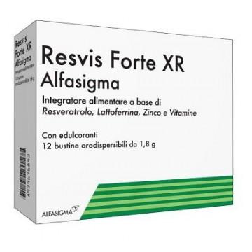 Resvis Forte XR Biofutura Antiossidante e Difese Immunitarie 12 buste