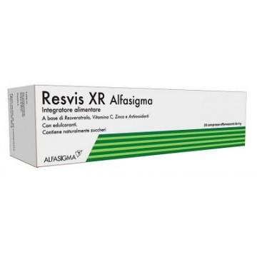 Resvis XR Alfasigma Integratore 20 compresse effervescenti da 4 g