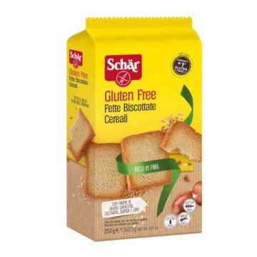 Schar Fette Biscottate ai Cereali Senza Glutine 260 g