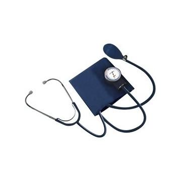 Sfigmomanometro aneroide latex free con fonendoscopio