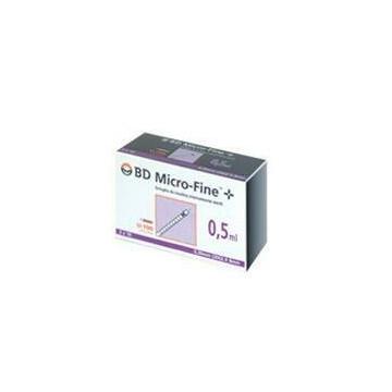 BD Siringa Insulina 0,5 ml 100 ui  ago 30G 30 pezzi