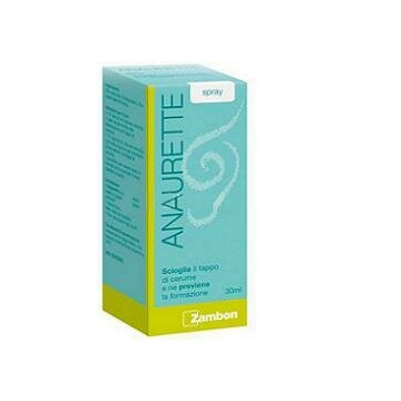 Anaurette spray auricolare  rimozione cerume 30ml