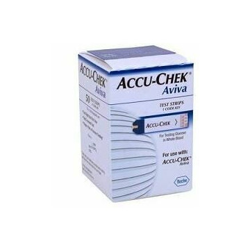 Accu-chek Aviva 50 Strisce Reattive Glicemia