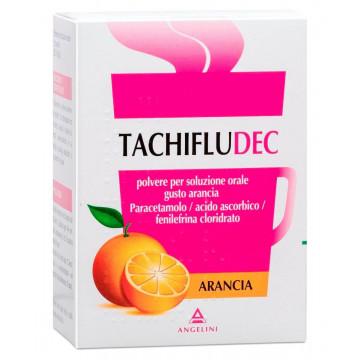 Tachifludec Arancia Antipiretico Analgesico Soluzione Orale 10 bustine