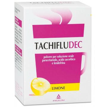 Tachifludec 10 bustine Gusto Limone soluzione orale