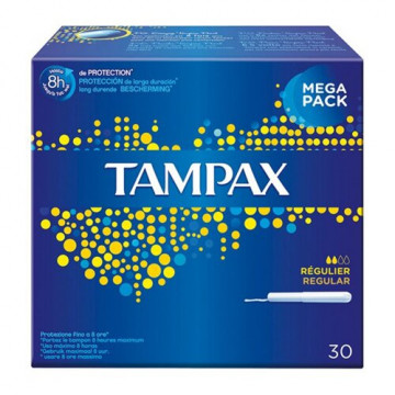 Tampax blue box regular 30 pezzi
