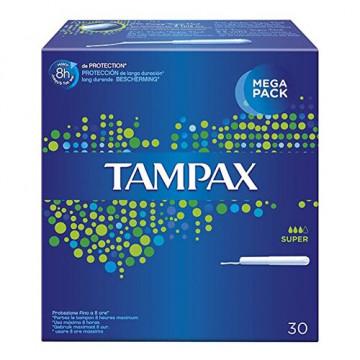 Tampax blue box super 30 pezzi