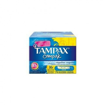 Tampax compak regular 16 pezzi