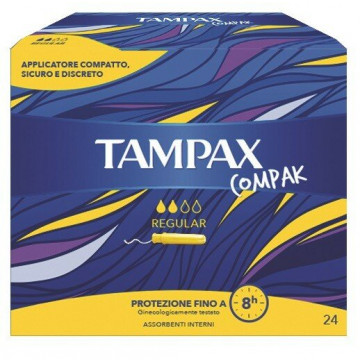 Tampax compax reg 24pz